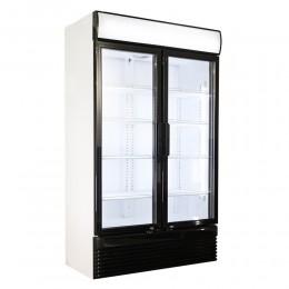 Réfrigérateur deux portes vitrées 750L