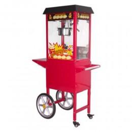 Machine à popcorn sur roulettes