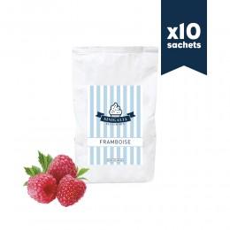 Produit à glace framboise Sinigalia x 10 sachets