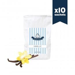 Mix à glace - Vanille - Sinigalia - 10x800g