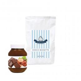 Produit à glace choco-noisette (façon pâte à tartiner) Sinigalia