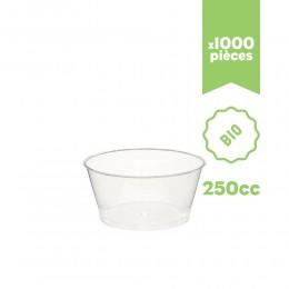 """Pot à glace BIO """"Kristal"""" 250cc 1000pcs"""