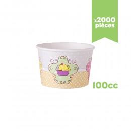 """Pots à glace """"Très Chic"""" 100cc x2000"""