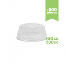 """Couvercles pots à glace """"très chic"""" 160/230cc 900pcs"""