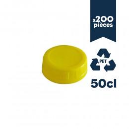 Bouchon pour bouteille PET 50cl 200pcs