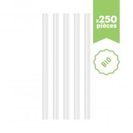 Pailles XXL bubble tea BIO compostable 250pcs