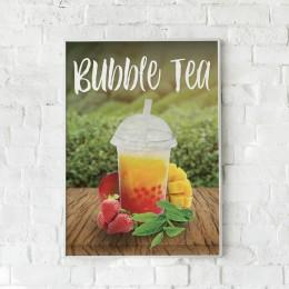 PLV - Bubble tea - Forex A2 3mm - 42x59,4cm