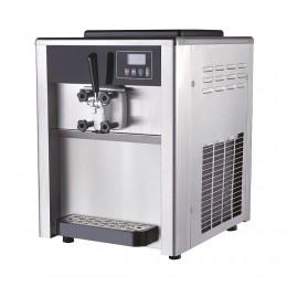 Machine à glace soft professionnelle de comptoir - yaourt glacé - sundae - un parfum - 18L/h