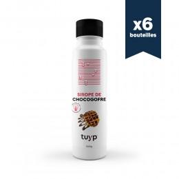 Coulis Chocolat-noisette - 1,2kg (chocogaufre) - 6 bouteilles