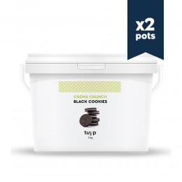 Pâte à tartiner Black Cookies - 3kg - 2 pots