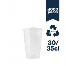 Gobelets rPET 30/35cl (12oz) 1000pcs