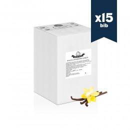 Mix liquide premium SINIGALIA - Glace à l'italienne - Vanille - 15x5,5kg