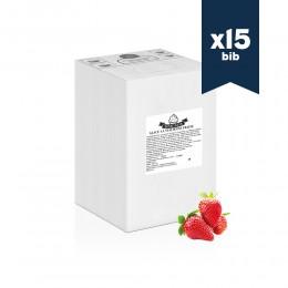 Mix liquide premium SINIGALIA - Glace à l'italienne - Fraise - 15x5,5kg