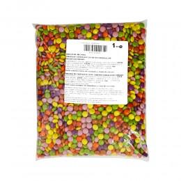 Dragées Multicolores Chocolat 1kg