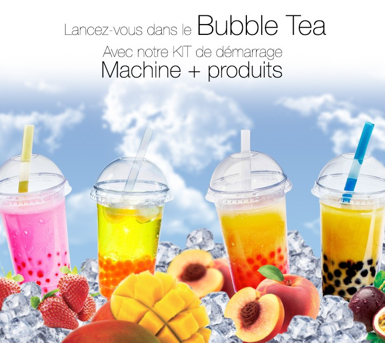 KIT DEMARRAGE BUBBLE TEA